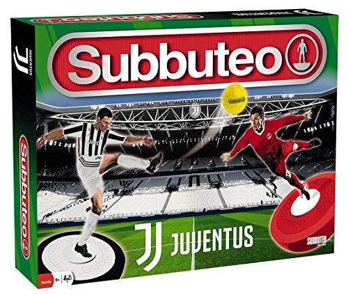 Giochi Preziosi Subbuteo Playset Juventus con 2 Squadre Tappeto Gioco, 2 Porte, Pallone (Giocattolo)