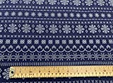 Oddies Textiles CBJ-CEP008 Weihnachtsstoff mit