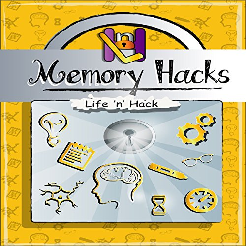 Memory Hacks audiobook cover art