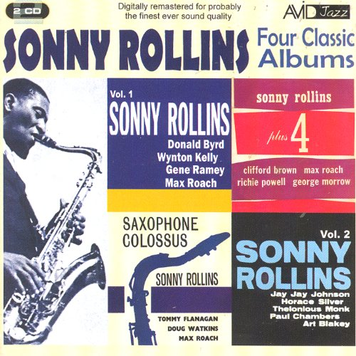 Four Classic Albums (Sonny Rollins Plus 4 / Sonny Rollins Volume 1 / Sonny Rollins Volume 2 / Saxophone Colossus) (Digitally Remastered)