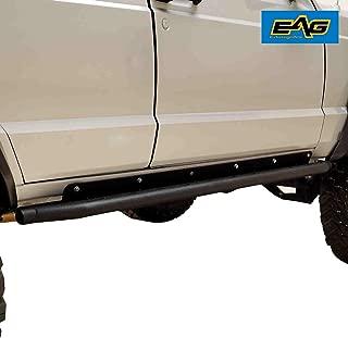 EAG Steel Rock Sliders Side Steps Running Boards