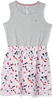 Tommy Hilfiger Dress for Girls - Multi Color