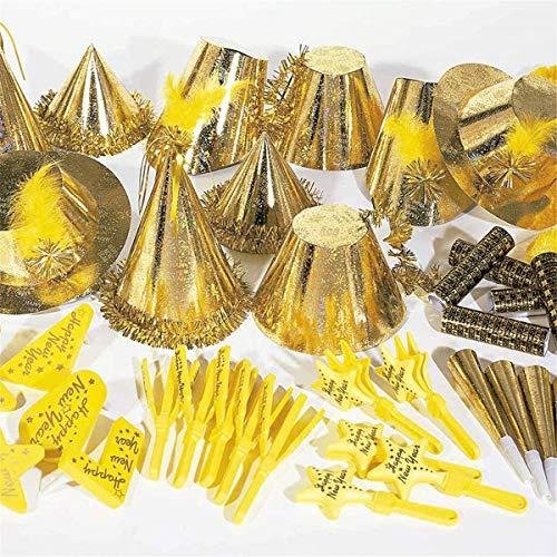 garcía di POU 202.17assortimento cotillon oleografico 20persone, Oro