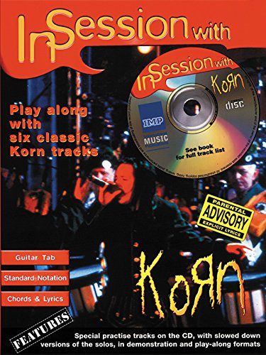 In Session with Korn (Guitar Tab) (Book & CD) by Korn (Composer) (27-May-2005) Paperback