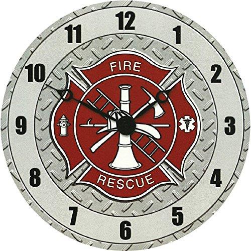 Sigma Impex CLK-109 Fire Dept. Wall Clock