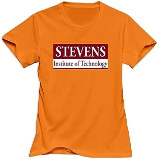 VAVD Women's Stevens Institute Of Technology O-Neck T Shirt