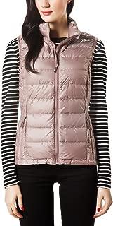 XPOSURZONE Women Packable Lightweight Down Vest Outdoor Puffer Vest