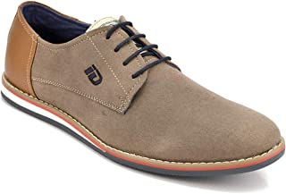 ID Men's Beige Casual Shoes