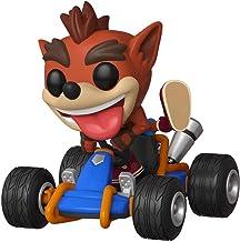 Funko-Pop Rides: Crash Bandicoot Figura Coleccionable, Multicolor, Estándar (40950)