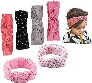 529350ec9c14d JMITHA Bébé Fille Bow Bandeau Turban Lapin Bandeaux élastique serre-tête  Wrap Photographie Belles Cheveux