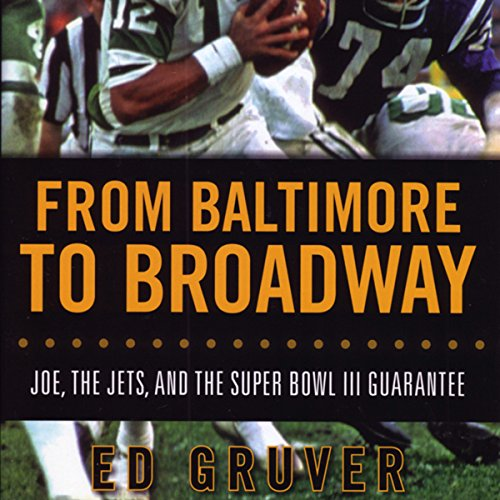 From Baltimore to Broadway audiobook cover art