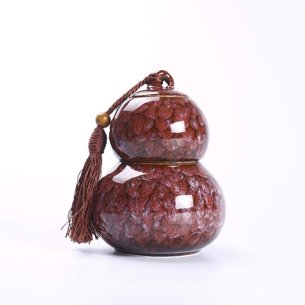 Storage Jars Tea Canister Ceramic Gourd Caddies Dallas Mall Popular brand in the world Coffee S