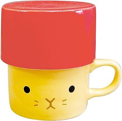 愛龍社 マグカップ レッド マグ/直径8.1×10.7×高さ9.1cm 箱/12.3×12.3×高さ11.1cm