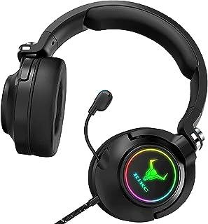 Kikc Auriculares para PS4, Xbox One con auriculares estéreo envolvente para juegos para PC, PS5, PS4, Xbox X, PSP, videoju...
