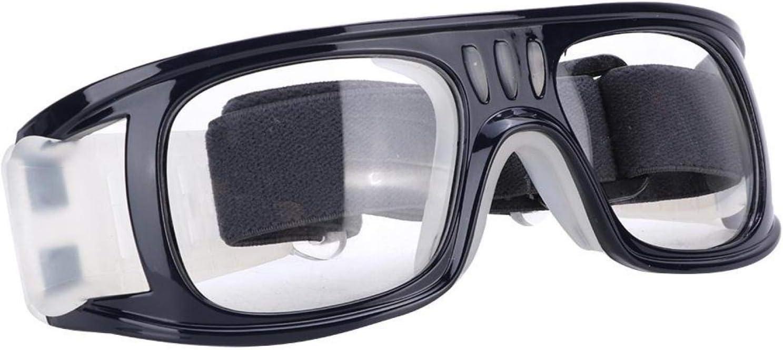 Kuuleyn Gafas Protectoras, fútbol Gafas Protectoras Gafas de Seguridad Gafas Deportivas al Aire Libre Gafas Protectoras Marco para Baloncesto Fútbol Entrenamiento Golf(Azul Oscuro)