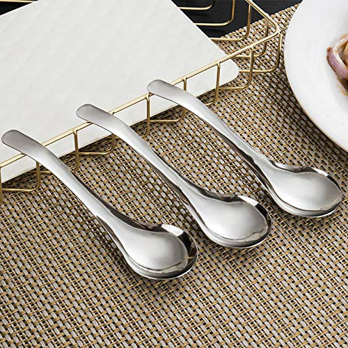13-Inch Artisan Stainless Steel 3-Piece Serving Spoon Set