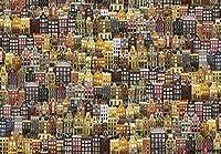 [Impuzzle] アムステルダムの村 Town of Amsterdam | 1000 ピース - 大判ジグソーパズル。 全世代で楽しめるパズルゲーム。 美しい装飾,特別プレゼント,楽しい遊び。 無料ボーナスポスター [並行輸入品]
