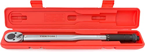 TEKTON 1/2 Inch Drive Click Torque Wrench (10-150 ft.-lb.) | 24335