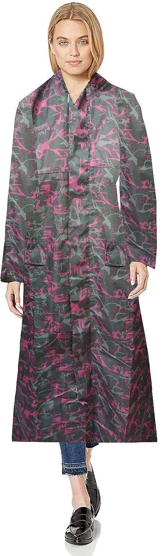 Sky Rain Coat for Women with Hood