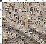 Adler, Unabhängigkeit, Usa, Amerika, Feuerwerk,