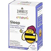 30-Count Zarbee's Naturals Children's Sleep with Melatonin Supplement Chewable Tablets (Natural Grape Flavor)
