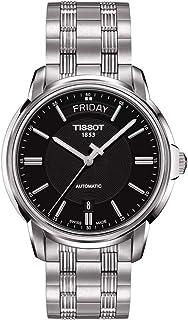ساعة اوتوماتيكس III داي ديت بمينا اسود للرجال من تيسو، موديل T065.930.11.051.00