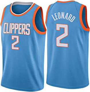 Men's Women Basketball Swingman Jersey - Basketball Uniform 2# Leonard Jerseys Basketball Clothes Breathable Embroidery T-...
