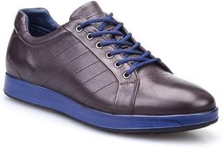 Cabani Bağcıklı Günlük Erkek Ayakkabı Kahve Floter Deri