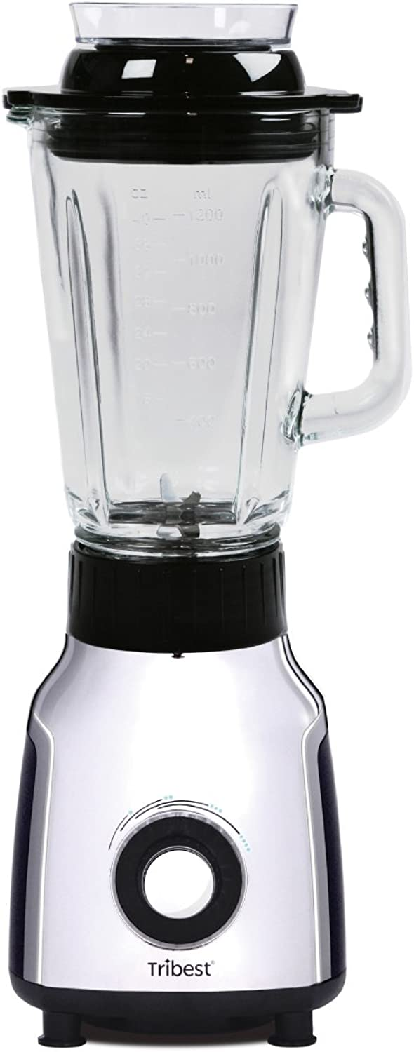 TriBeste PBG-5001-A Personal Vacuum Glass Blender, One-Size, Black