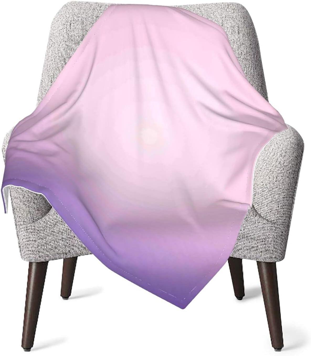 JZDACH Baby Surprise price Under blast sales Essentials Throw and Ombre Receiving Purple Pink