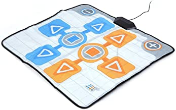 Zopsc Dance Mat for Nintendo Wii Console, Non-Slip Dancing Pad Replacement Mat Game for Double Person, Plug and Play photo