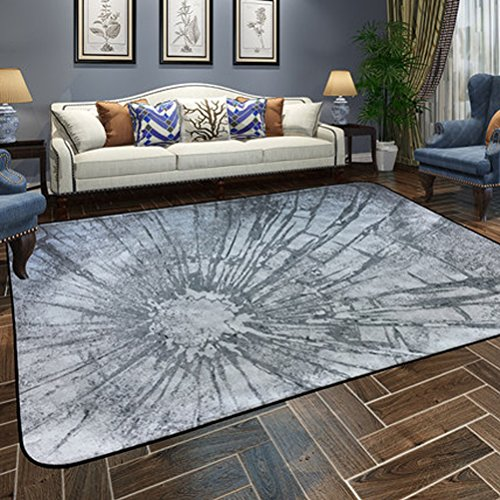 WLH- Tapijt Woonkamer Europese Minimalistische Modern Bedroom Volledige Koffietafel Slaapbank Rechthoekige Thuis Carpet (Color : A, Size : 120x180cm)