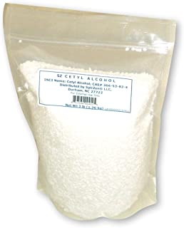 SZ Cetyl Alcohol, 3 lb. for DIY Cosmetics and Other Craft Projects.