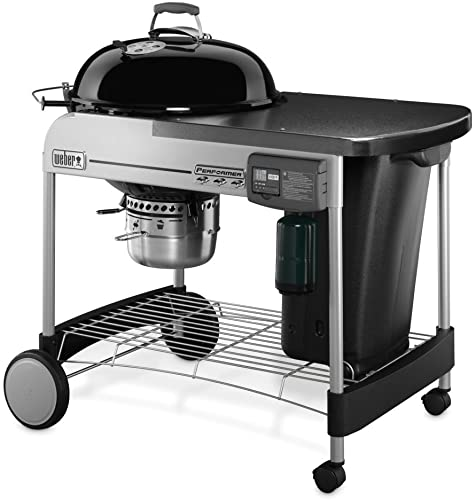 Weber-15501001-Performer-Deluxe-Charcoal-Grill,-22-Inch