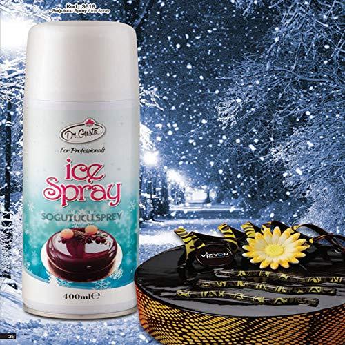 Ice-Spray, spray refrigerante per cioccolato e zucchero, 400 ml