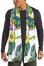 Luxurious Cotton Feel Scarves for Men Women, Winter Cozy Scarf