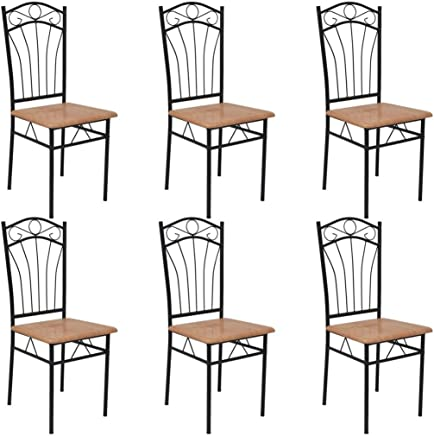 Chaise Fer Forge Salle A Manger.Amazon Fr Chaise Fer Forge Chaises Salle A Manger
