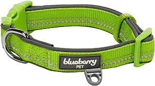 Blueberry Pet 6 Colors Soft   Comfy 3M Reflective Pastel Color Dog Collars 07eb3b0b2