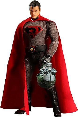 Mezco Toys DC Comics one-12 Collective rot Sohn Superman Action Figur