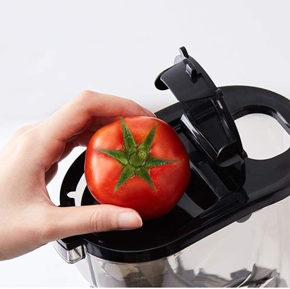 Zryh Easy Clean Juice Extractor, Juicer centrífugo, Juicer de Acero Inoxidable con Boca antigoteo, pies Antideslizantes, máquina Juicer (Color : Red) Red