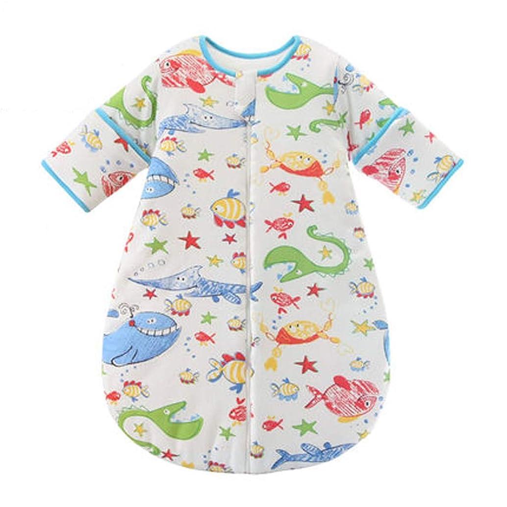 THBEIBEI Cotton Baby Sleeping Bag Baby Winter Thick Sleeping Bag Anti-Kick Sleeping Bag (Color : B, Size : XL)