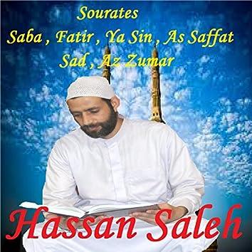 Sourates Saba , Fatir , Ya Sin , As Saffat , Sad , Az Zumar (Quran)