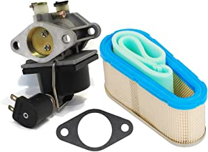 HIFROM Carburetor Carb 640330 640034 640072 640159 and 36356 Air Filter for Tecumseh OHV16 OHV165 OHV17 OHV175 Engines