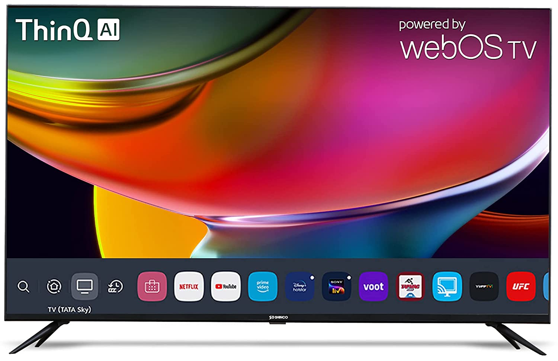 Shinco 50 inches 4K Ultra HD Smart LED TV