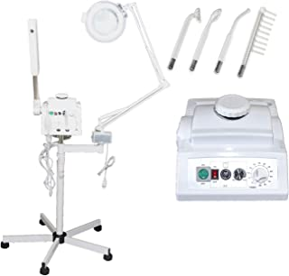 3 in 1 Aromatherapy Facial Steamer, 5x Magnifying Lamp & High Frequency Machine for..