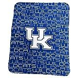 Logo Brands NCAA Kentucky Wildcats Classic Fleece, One Size