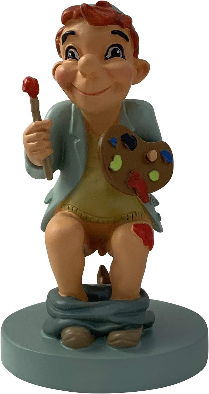 La figura de Caganer, La figura de Belén, Paplo el pintor