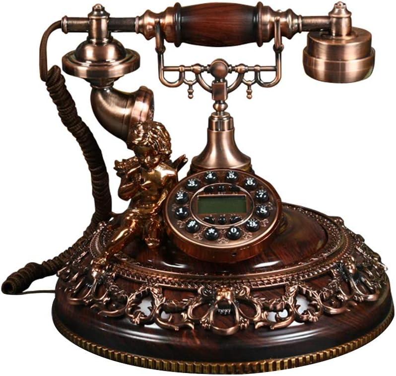 Telephones & Accessories Telephone European-Style Antique Telephone American Retro Fashion Creative Home Fixed Telephone landline Decoration