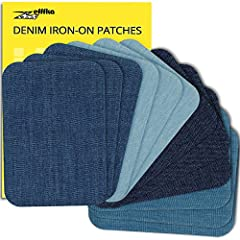 """Perfect for repair and decorating: Prolong the life of your favorite clothes or breathe into the old new life by decorating it. Ideal size 3"""" by 4-1/4"""" will help to hide the shortcomings of both small and large holes and enough to create your own des..."""