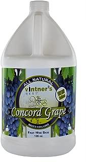 Home Brew Ohio Vintner's Best Fruit Wine Base, Concord Grape, 128 Oz